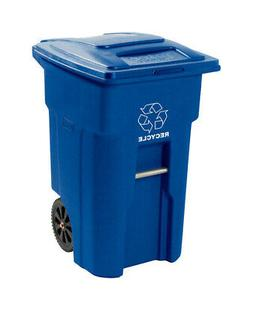 Toter 025548-R1BLU Residential Heavy Duty 2-Wheeled Recyclin
