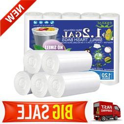 1.2 Gallon Biodegradable Garbage Bags 5 Liter Trash Can Bags