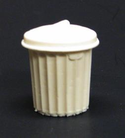 1:24 1:25 G scale model resin garbage trash can