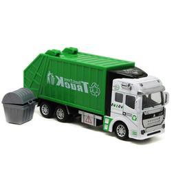 1:48 Garbage Truck Trash Bin Can Sanitation Vehicle Model Ca