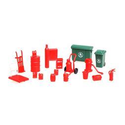 1/64 trash can sc05 hydrant oil barrel fire extinguisher tro