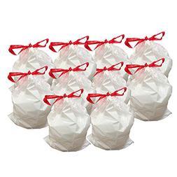 100 Replacement Garbage Bags for Simplehuman Trash Bins, 45L