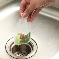 100pcs Sink Filter Drain Strainer Sewer Anti-blocking Leak N