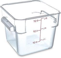 Carlisle 1072207 StorPlus Food Container, 6 Quarts