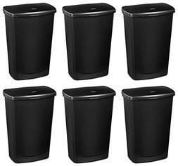 Sterilite 10919006 11.4 Gallon Lift-Top Covered Wastebasket
