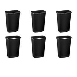 Sterilite 10919006 11.4 Gallon/43 Liter LiftTop Wastebasket,