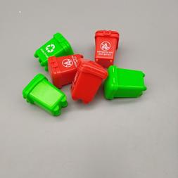 10pcs Random Super Mini Kids Garbage Classification Trash Ca