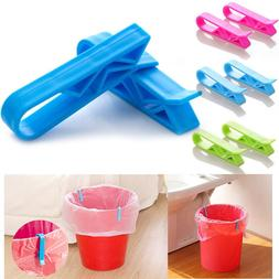 10PCS Trash <font><b>Garbage</b></font> Bag Fixed Clip Waste