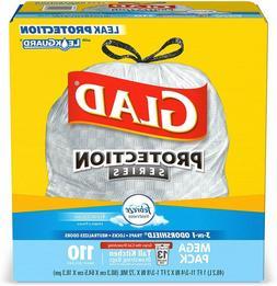 110 Drawstring Trash Bags 13 Gallon Febreze Tall Garbage Fit
