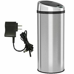 iTouchless 13 Gallon Automatic Stainless Steel Touchless Tra
