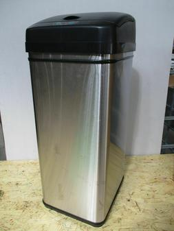Itouchless 13 Gallon Stainless Steel Automatic Trashcan