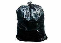 55-60 Gallon Trash Can Liners Garbage Bags Black 32 Case 4.7