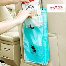 Amapower 18 * 34.5cm Convenient Trash Garbage Storage Car Ru