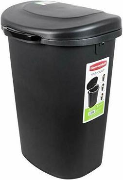Rubbermaid Touch-Top Lid Trash Can for Home, Kitchen, and Ba