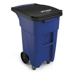 Rubbermaid Commercial Products BRUTE Rollout Trash/Garbage C