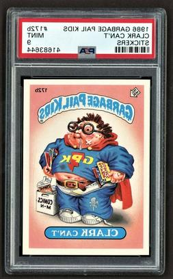1986 Topps Garbage Pail Kids 172b Clark Can't Psa 9 Mint Os5