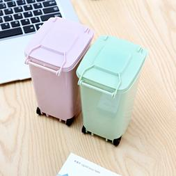 1Pc Small Mini Portable Cute Rubbish <font><b>Bin</b></font>