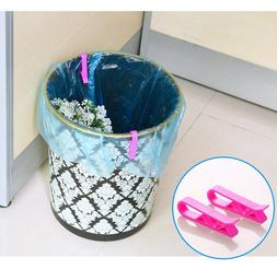 2/4/6Pcs Trash Bag Fixed Clip Waste Basket Rubbish <font><b>