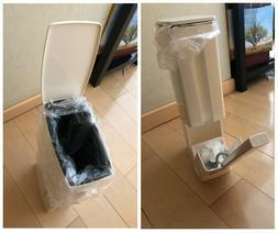 2 Colored 6L Plastic Waste Bin Toilet Trash Can Garbage Buck