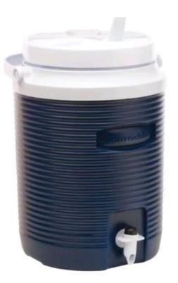 Rubbermaid 2-Gallon Beverage Cooler Water Jug Blue