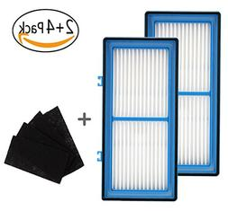 2 Replacement AER1 Filter + 4 Carbon Booster Filters, Type F
