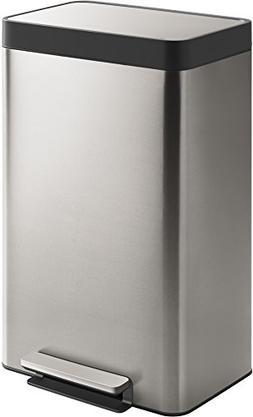 Kohler 20940-ST 13-Gallon Stainless Trash Can, Stainless Ste