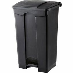 23 Gallon Garbage Can Trash Bin Step On Waste Receptacle Com