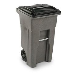 Toter 25532-R1129 Residential Heavy Duty Two Wheeled Trash C