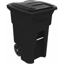 Toter 25564-R1209 64 Gallon 2-Wheel Plastic Trash Can Cart