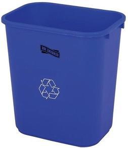 28 Qt. Plastic Indoor Recycling Bin Trash Can Outdoor Garbag