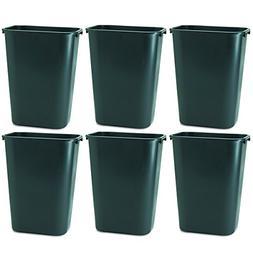 Rubbermaid Commercial 295700BK Deskside Plastic Wastebasket,