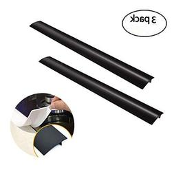 "Benchmart 3 pack of 21"" Flexible Stove Silicone Gap Cover T-"
