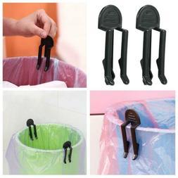 2Pcs Universal Garbage Bag Cans Clip Waste Bin Trash Can Loc
