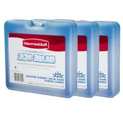 """3 Packs Rubbermaid Blue Ice Brand Weekender Cooling Pack 7"""""""