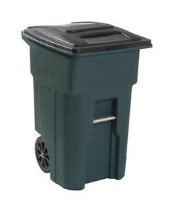 32 gal polyethylene wheeled garbage can lid
