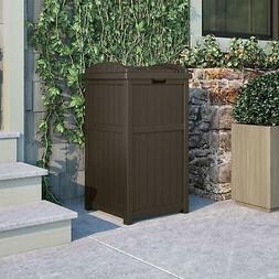 33-Gallon Trash Can Garbage Backyard Garden Patio Outdoors P