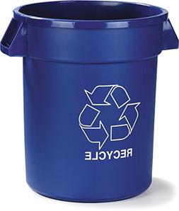 Carlisle 341044REC14 Bronco LLDPE Recycle Trash Container, 4