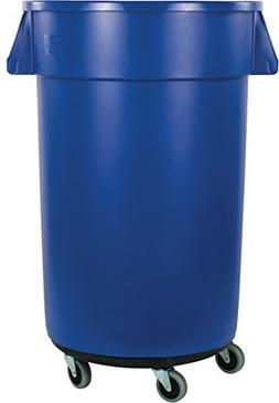 Carlisle 34113214 Bronco Round Waste Container & Dolly Combo