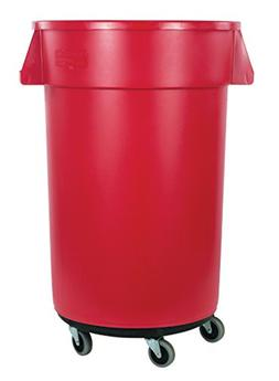 Carlisle 34114405 Bronco Round Waste Container & Dolly Combo