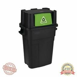 35.5 Gal.Stackable Indoor Recycling Garbage Bin Waste Trash