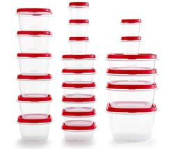42 piece Rubbermaid Easy Find Vented Lids Food Storage Conta