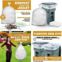 """50 Count 50""""x60"""" Clear Heavy Duty Garbage Bags  for 64-6"""
