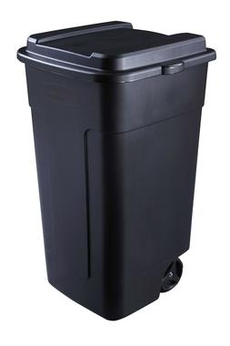 50-Gallon Outdoor Wheeled Trash Can Roughneck Garbage Waste