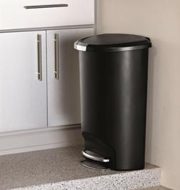 simplehuman 50 Liter / 13 Gallon Semi-Round Kitchen Step Tra