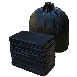 50pcs Heavy Duty 55 Gallon Trash Bag Garbage Yard Can Rubbis