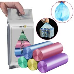 5Packs   Thicken Disposable Garbage Trash Cans Bags Bathroom
