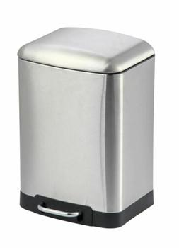 Home Basics 6 Liter Soft-Close Waste Bin Garbage Can - WB414