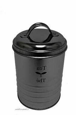 6 Stainless Steel Garbage Can Kitchen Tea Canister