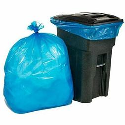 64-65 Gallon Recycling Trash Bags For Toter &x25021.5 Mil Bl