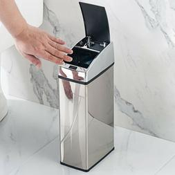 6l sensor dustbin touchless trash can garbage